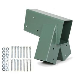 1-2-3 A-Frame Swing Set Bracket Green Heavy Duty Steel with