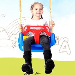 3-in-1 Secure Swing Seats High Back Infant Toddler Children