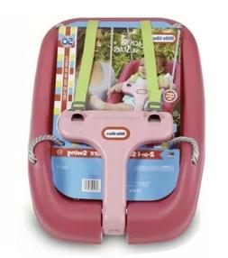 Little Tikes 2-in-1 Snug N Secure Swing-Pink