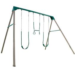 Lifetime 10-Foot Swing Set Heavy duty Two belt swings with g