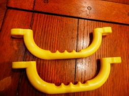 "10"" Yellow Playground Handles /  Swing Sets / Tree Houses /"
