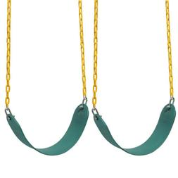 2 Pack Heavy Duty Swing Seat Swing Set Accessories Swing Sea