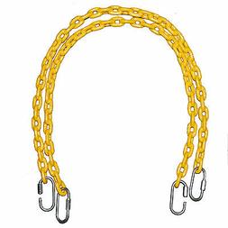 """Playkids  40"""" Fully Coated Swing Set Chains for Playground P"""