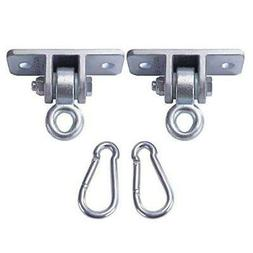 2 Heavy Duty Swing Hangers Set Playground Porch Indoor Outdo