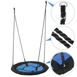 "40""Child Kids Outdoor Saucer Tree Swing EZ Assembled Platfor"
