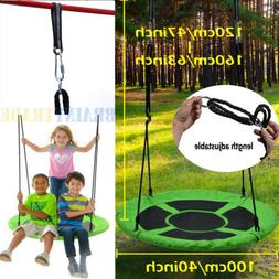 40inch Giant Flying Saucer Tree Swing Set for Kids Outdoor P