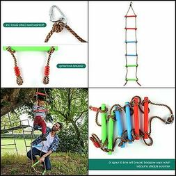 6.6 Ft Climbing Rope Ladder for Kids, for Indoor Play and Ou