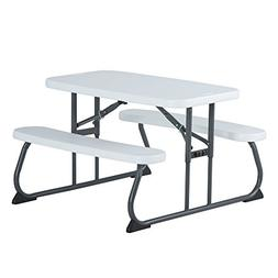 Lifetime 60239 Kid's Picnic Table, White
