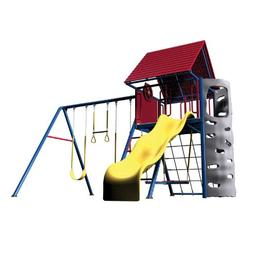 Lifetime 90137 A frame Playset; primary colors