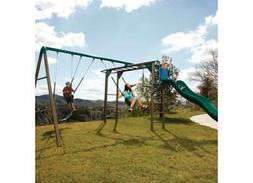 Lifetime 90143 Monkey Bar Adventure Swing Set - Earthtones