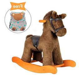 - Labebe Child Rocking Horse Toy, Stuffed Animal Rocker Toy