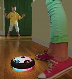 HearthSong® Light-Up Air-Powered Hover Soccer Disc with Rub