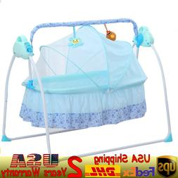 ABS 99 * 66* 83cm Electric Swing Baby Crib Cradle Sets with