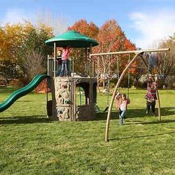 Lifetime Adventure Tower Playset playground slide swing set