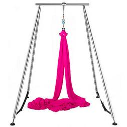 aerial trapeze stand yoga swing bar hammock