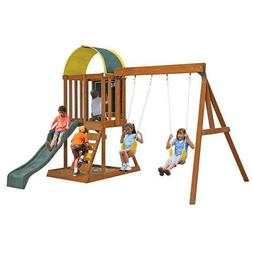 KidKraft Ainsley Wooden Swing Set / Playset Outdoor Fun Kids