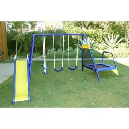 Sportspower Almansor Swing Set, Green
