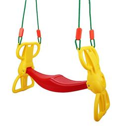 Costzon Rider Swing with Hangers, Wind Rider Glider Swing fo