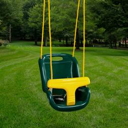 Gorilla Playsets High Back Infant swing Green/Yellow
