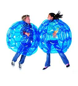 HearthSong® Set of 2 Blue BBOP Buddy Bumper Ball Inflatable