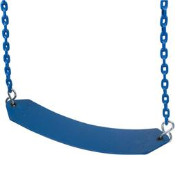 Swing Set Stuff BELT SWING WITH 8.5FT COATED CHAIN  With SSS