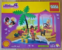Lego Belville Swing 2555 Palm tree Dolphin, Cat Swing & Girl