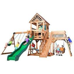 Backyard Discovery Caribbean All Cedar Playset