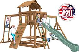 Creative Playthings  Charlotte Swing Set Made in The USA