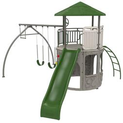 Children's Story Adventure Toy Outdoor Tower Swing Play Set