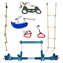 Gym1 Deluxe Indoor Playground with Indoor Swing, Plastic Rin