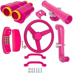 Swing Set Stuff Deluxe Accessories Kit with SSS logo Sticker