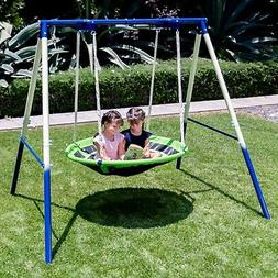 SportsPower Deluxe Saucer Swing, Green
