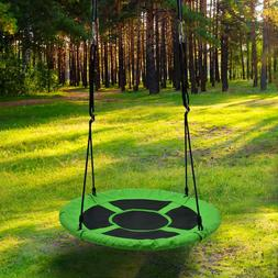 Detachable Swing Sets for Kids Playground Platform Saucer Sw