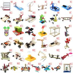DIY Puzzles Model Science Experiment Equippment Material Bab