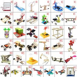 DIY Puzzles Model Science Experiment Equippment Material Kid