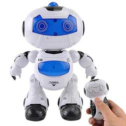 Sikye Electronic Robot Toy Remote Control Intelligent Walkin