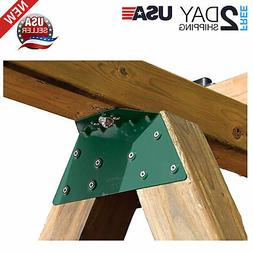 EZ A-FRAME BRACKET Durable Steel Metal Swing Set Powder Coat