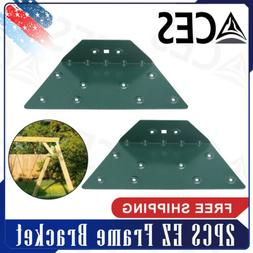 EZ Frame Bracket For Swing Set Swing Beam  Green