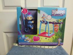 Fingerlings Playset Swing Bar Set with Baby Liv Fingerling M