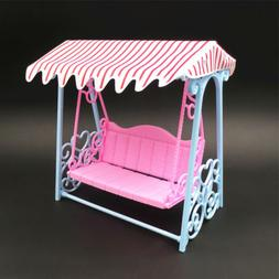 Furniture Garden Swing Set Plastic Vintage Sofa Play Toy Acc