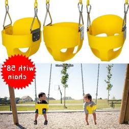 Garden Swing Seat Kids Toy Playground Full Bucket Swing set