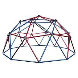 geometric dome climber play center primary colors