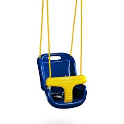Gorilla Playsets High Back Infant Swing, Blue