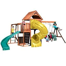Swing-N-Slide PB 8272-TY Grandview Twist Deluxe Play Set wit