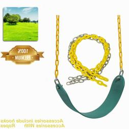 Green Heavy Duty Swing Seat Set Accessories Replacement Toys