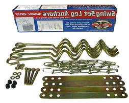 Ground Anchor Kit for Metal Frame Swing Sets