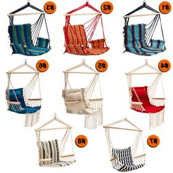 Hammock Chair Patio Porch Yard Tree Hanging Air Swing Seat R