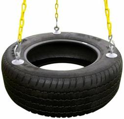 Eastern Jungle Gym Heavy-Duty 3-Chain Rubber Tire Swing Seat