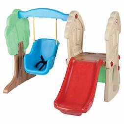 Little Tikes Hide & Seek Climber Swing Set   