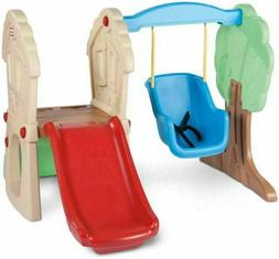 Little Tikes Hide & Seek Climber and Swing Set